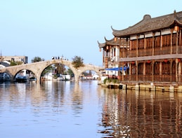 Zhujiajiao Water Village Half Day Coach Tour