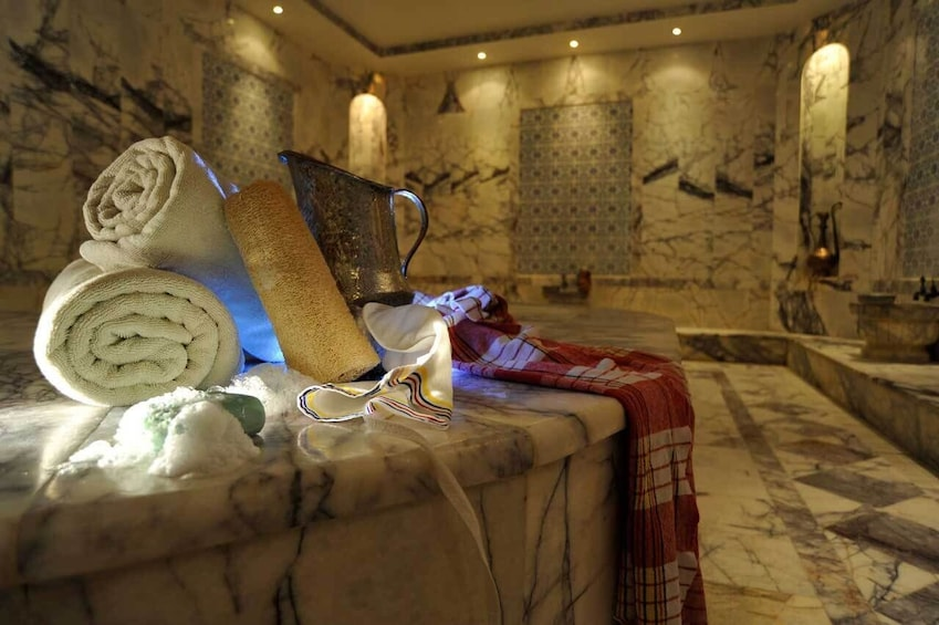 Show item 1 of 10. Experience a real Turkish Bath (Hamam) in Marmaris