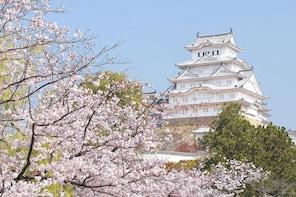 From Osaka: Himeji Castle, Arima Onsen & Kobe 1-Day Tour
