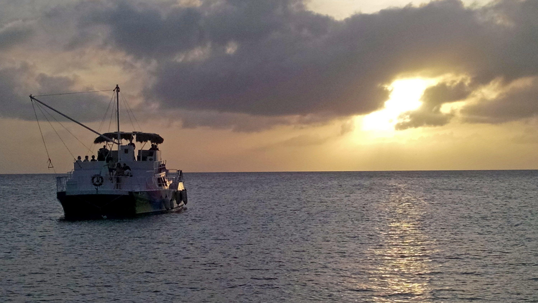 Cruise bij zonsondergang met open bar
