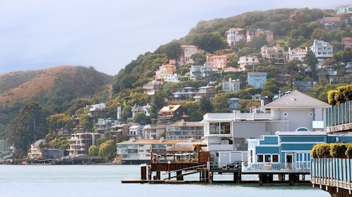 Gorgeous day view of Sausalito in San Francisco