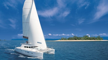 Full-Day Low Isles Great Barrier Reef Snorkeling Cruise