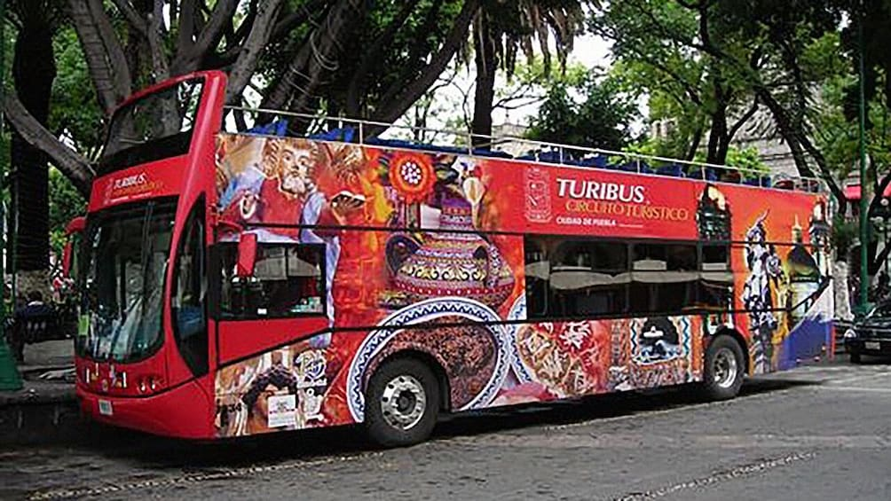 Show item 1 of 6. Turibus Hop-on Hop-off City Tour Puebla