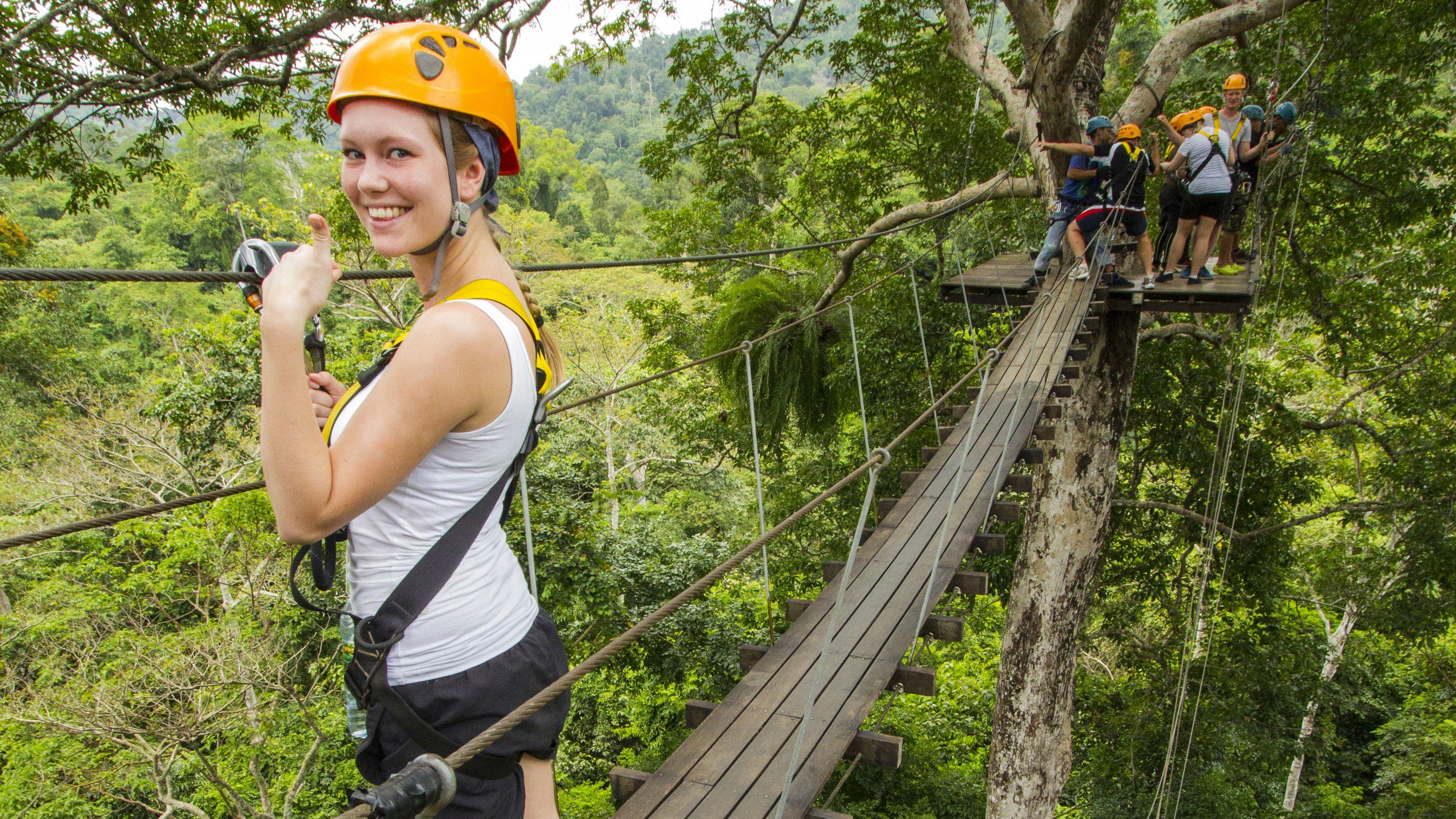 Flight of the Gibbon Chonburi, Zipline Adventure