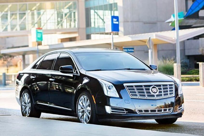 Show item 1 of 1. Baton Rouge to New Orleans Chauffeur Driven Transport by Executive Sedan