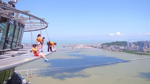 Skywalk at Macau Tower with Admission