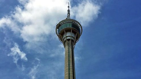 Close view of the Macau Tower