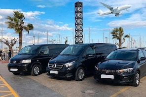 Private Transfer from Saint Helier to Jersey Airport (Round-Trip)