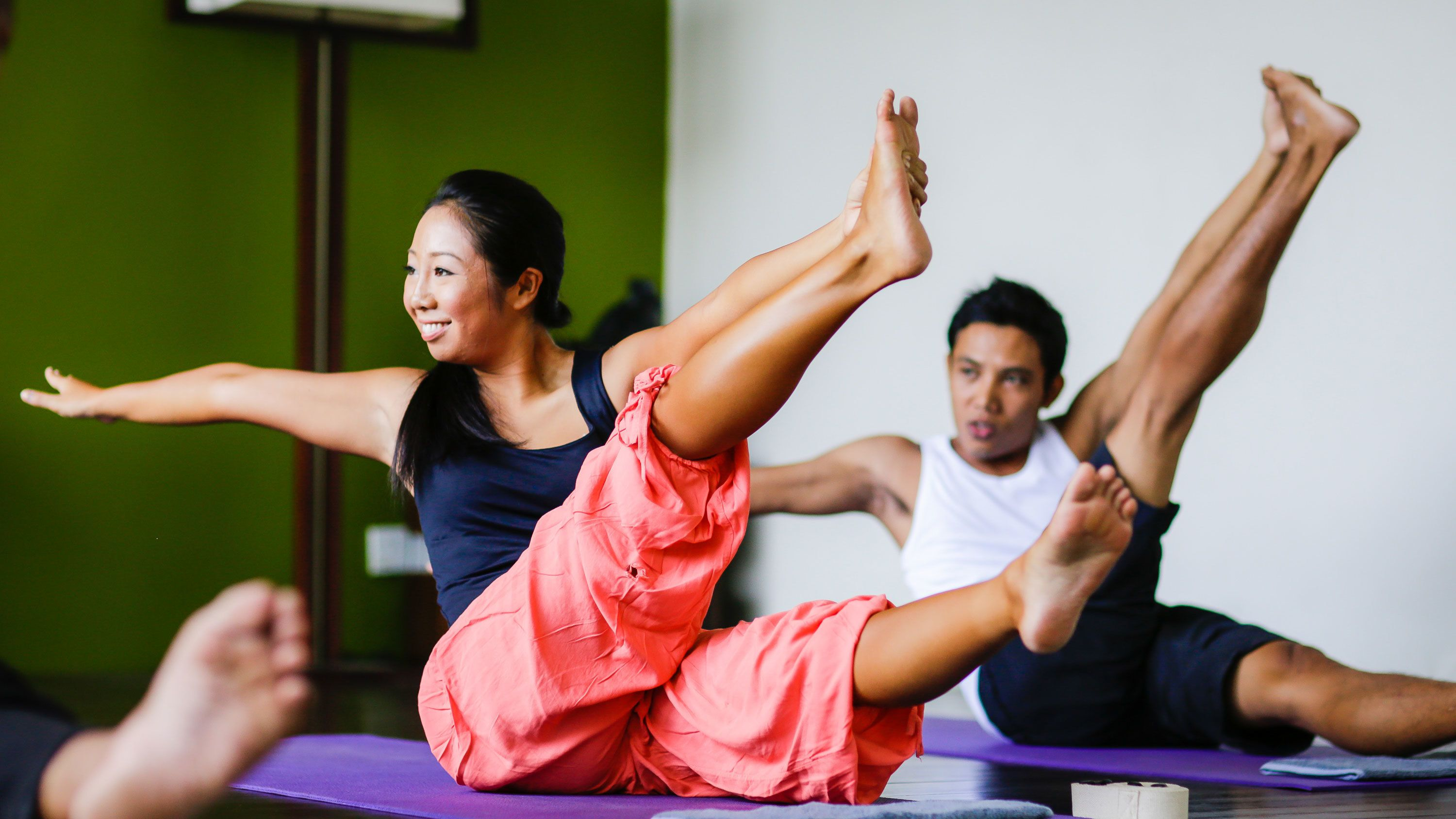 Yoga & Massage Therapy Package with 2-Course Meal