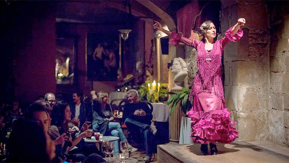 Flamencoshow og smaking av tapas