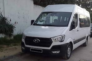 Monastir private minibus arrival & departure airport transfer to Hammamet S...