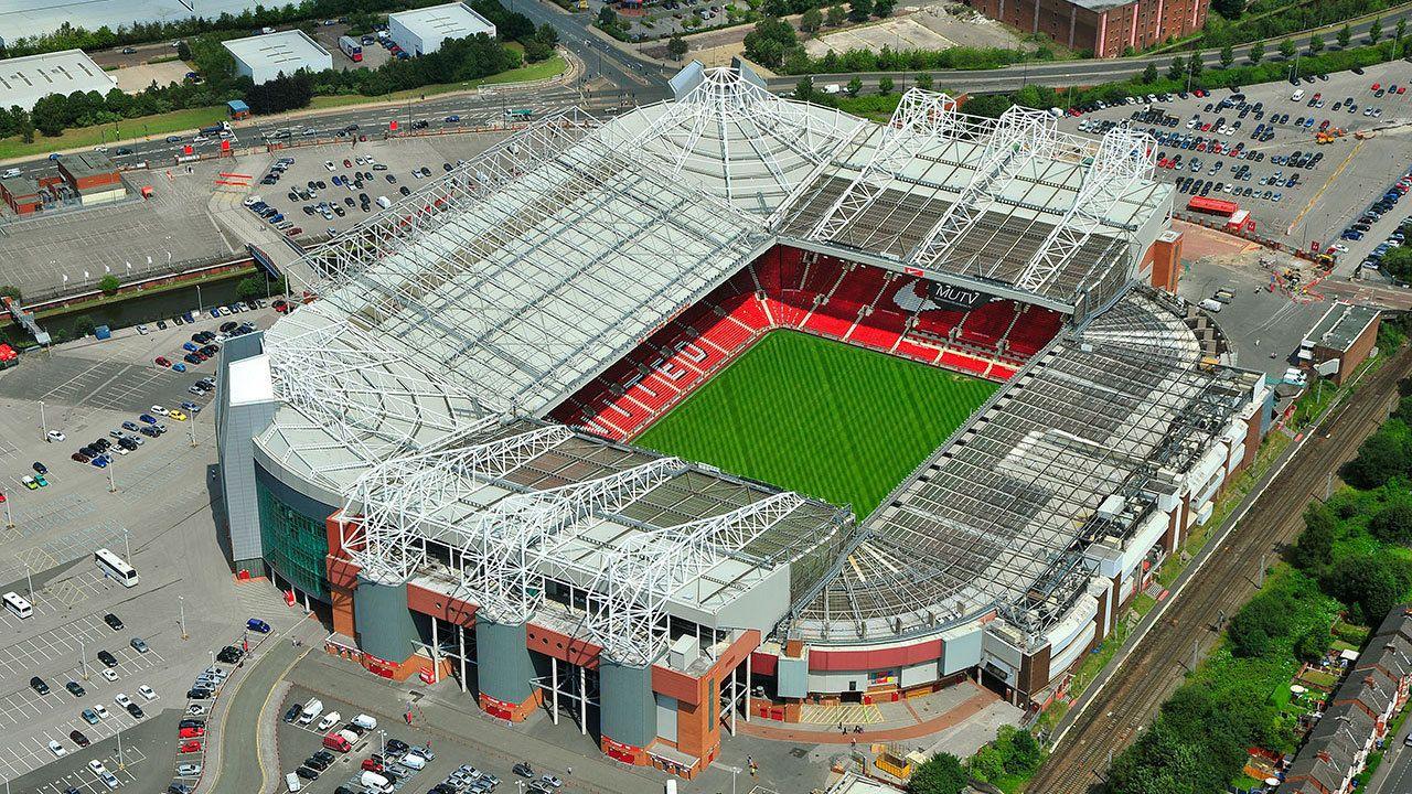Premier League: Fotballkamp med Manchester United FC på Old