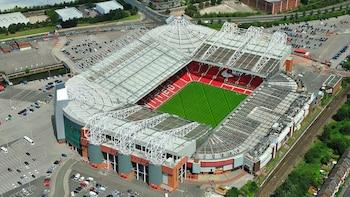 Premier League : match de football du Manchester United FC au stade Old Tra...