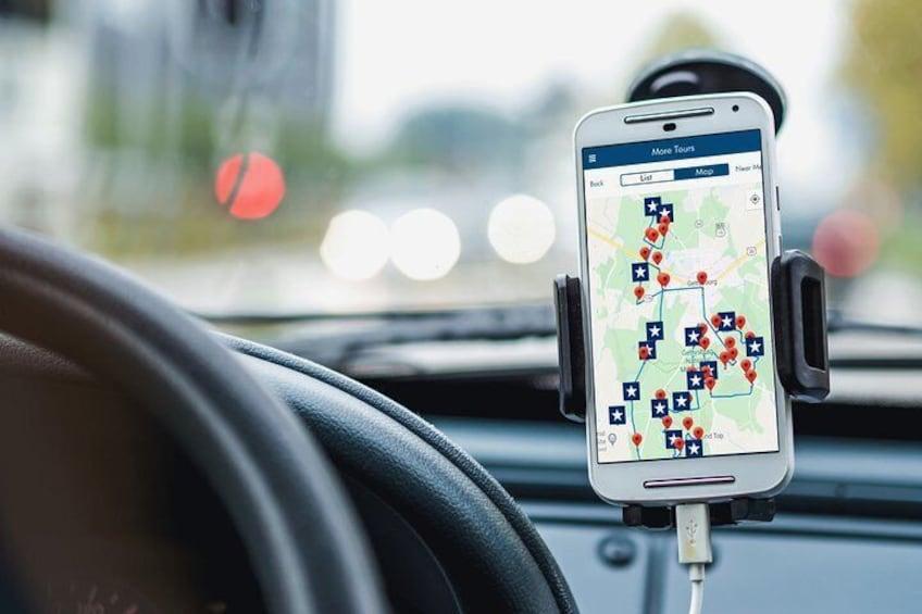 Gettysburg Battlefield Self-Guided Driving Tour