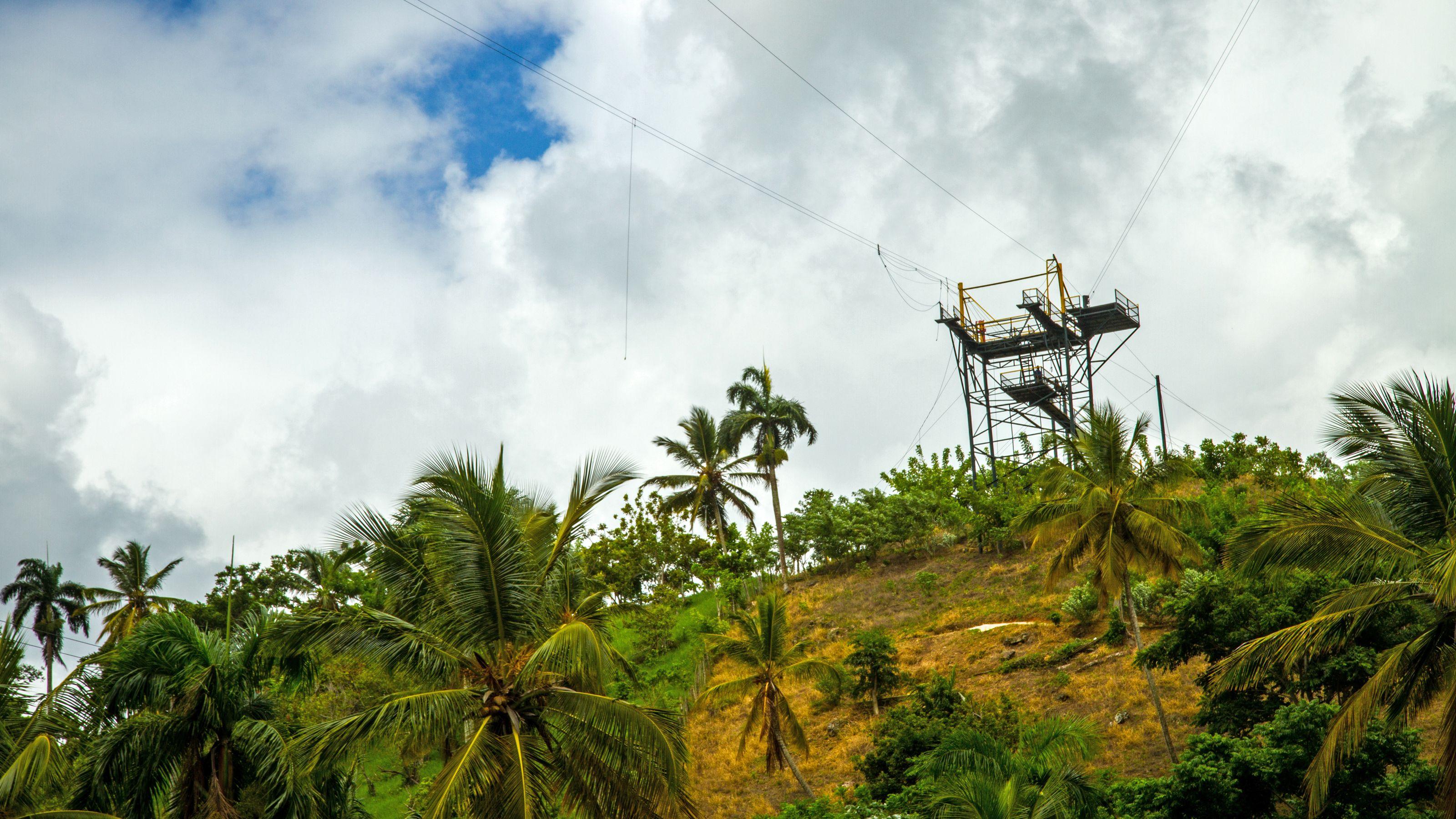 High platform in Punta Cana