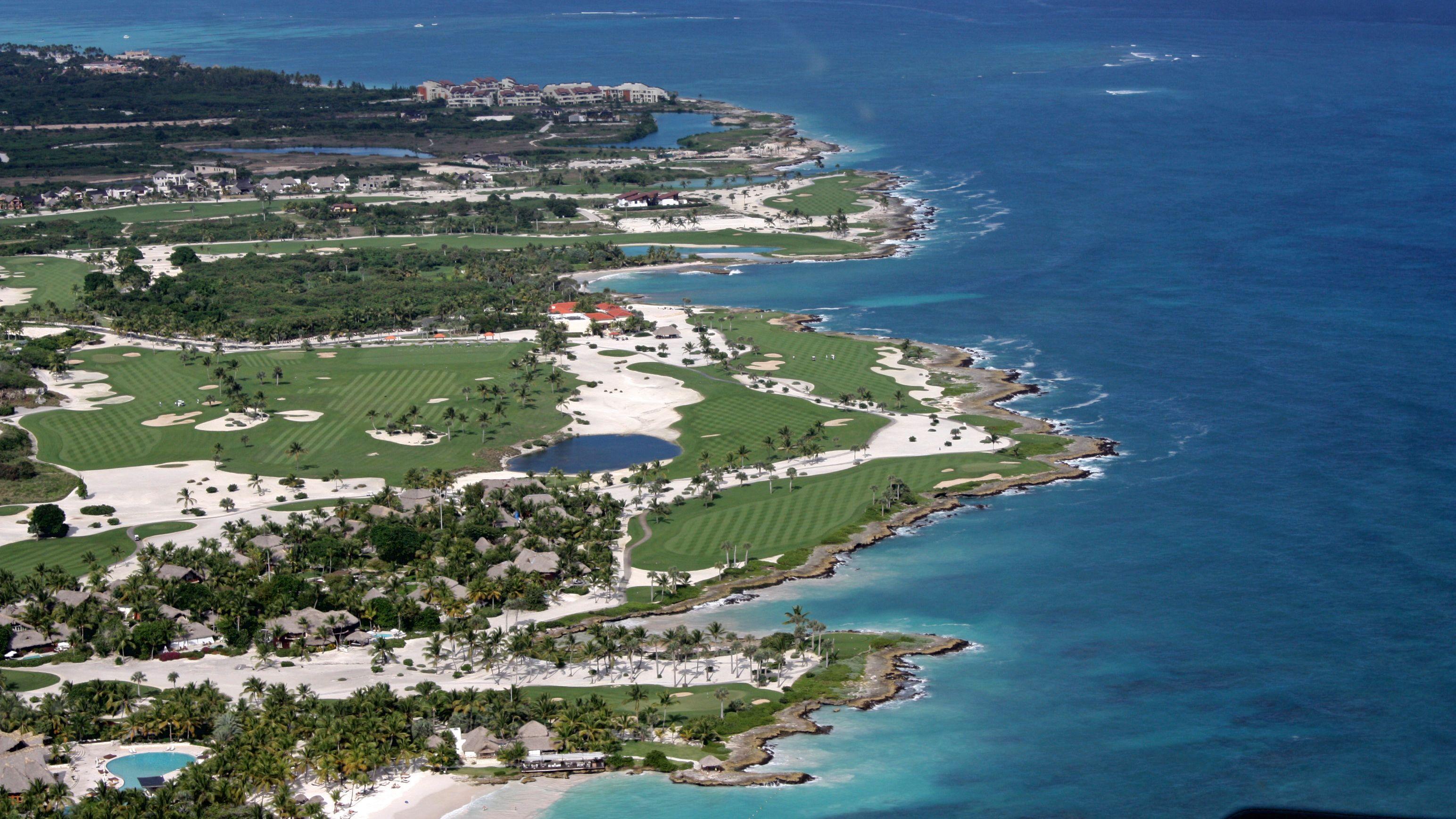 Coastline view in Punta Cana