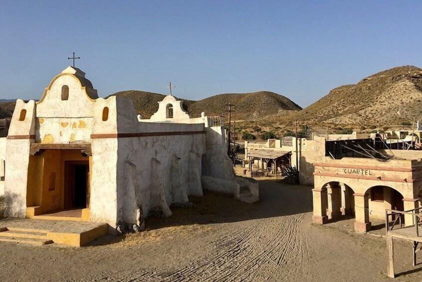 Tabernas and Fort Bravo cinema tour from Almería