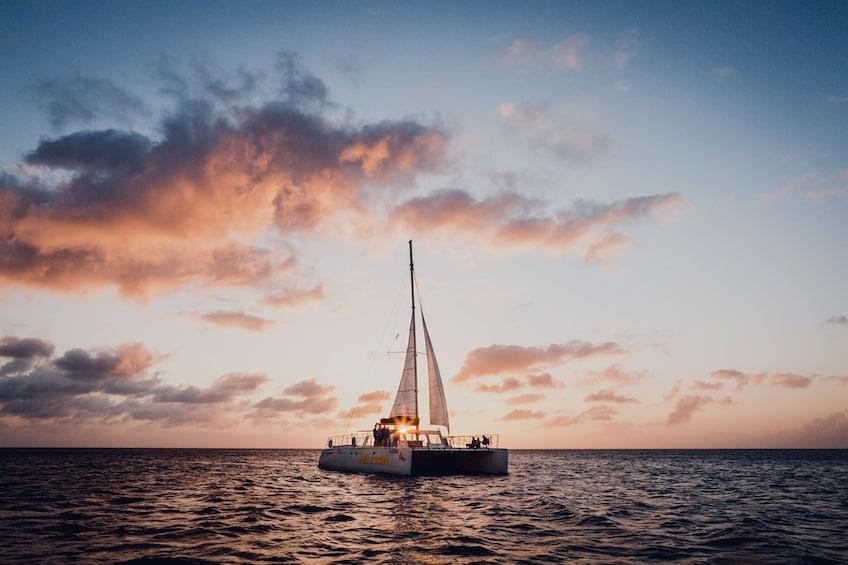 Show item 3 of 8. Sunset Cruise & Seaside Dinner