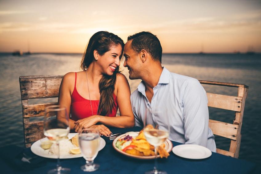 Show item 1 of 8. Sunset Cruise & Seaside Dinner