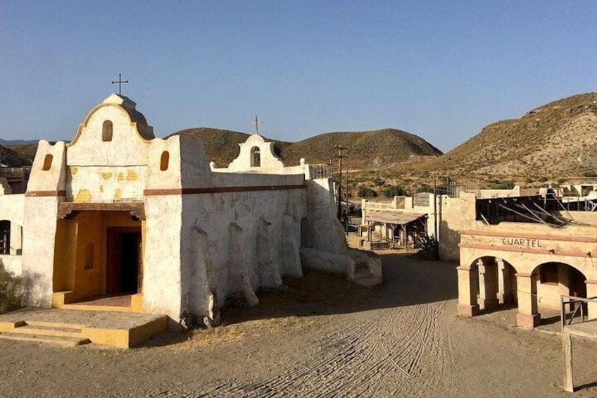 West Fort Bravo theme park tour from Roquetas de Mar