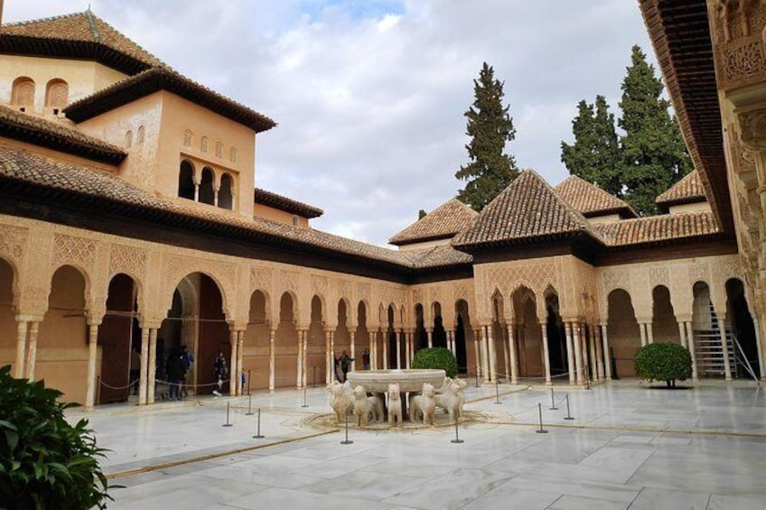 Show item 1 of 7. Excursion to Granada with guided visit to the Alhambra from Almería