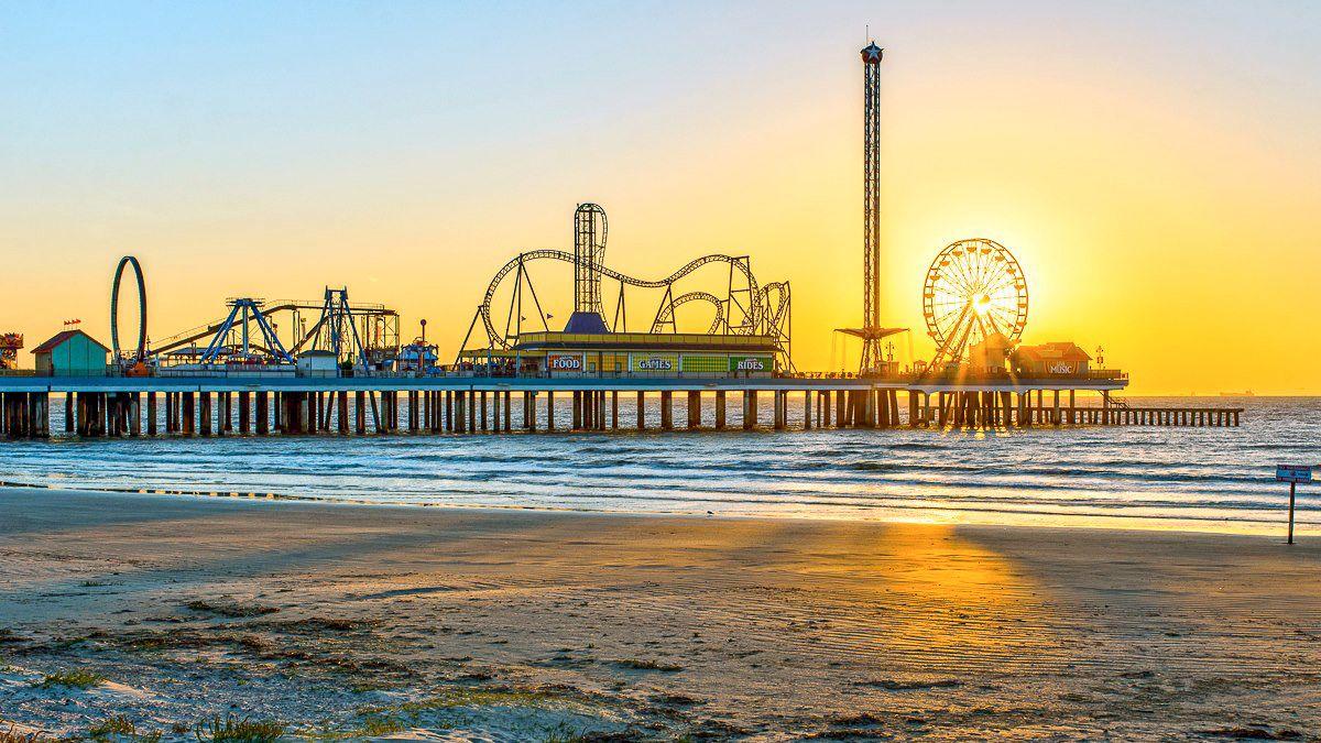 Galveston Island Visit with Houston City Tour
