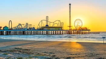 Galveston Island Visit with Houston City Tour
