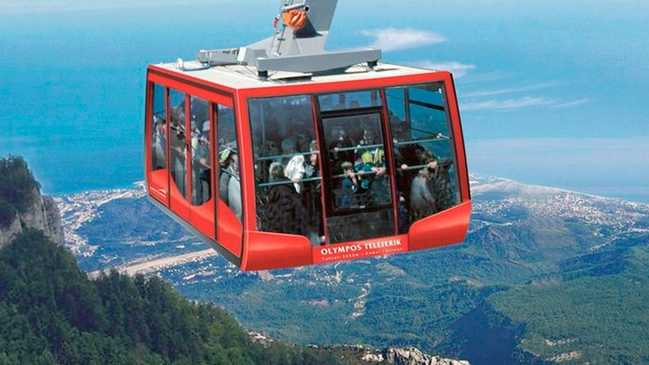 Mount Tahtali, Olympos, Beydaglari & Turkish Riviera by Cable Car