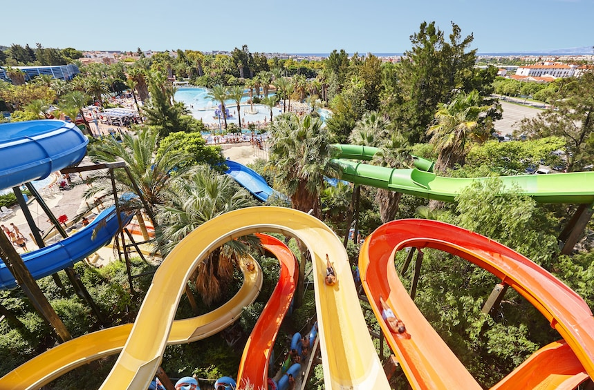 Caribe Aquatic Park from Barcelona - Full-Day Trip