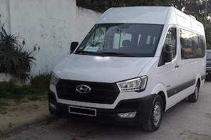 Enfidha private minibus arrival & departure airport transfer to Gammarth