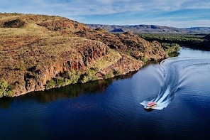 Ord River Discoverer with Sunset