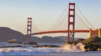 Golden Gate Bridge to Marshall Beach Walking Tour