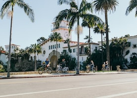Private Santa Barbara City Bike Tour