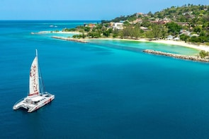 Adults Only Reggae Catamaran Cruise with Snorkelling & Drinks
