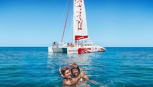 Adults Only Reggae Catamaran Cruise With Snorkeling
