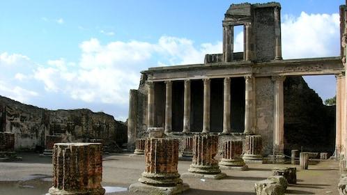 Site of Pompeii & Mount Vesuvius in Italy
