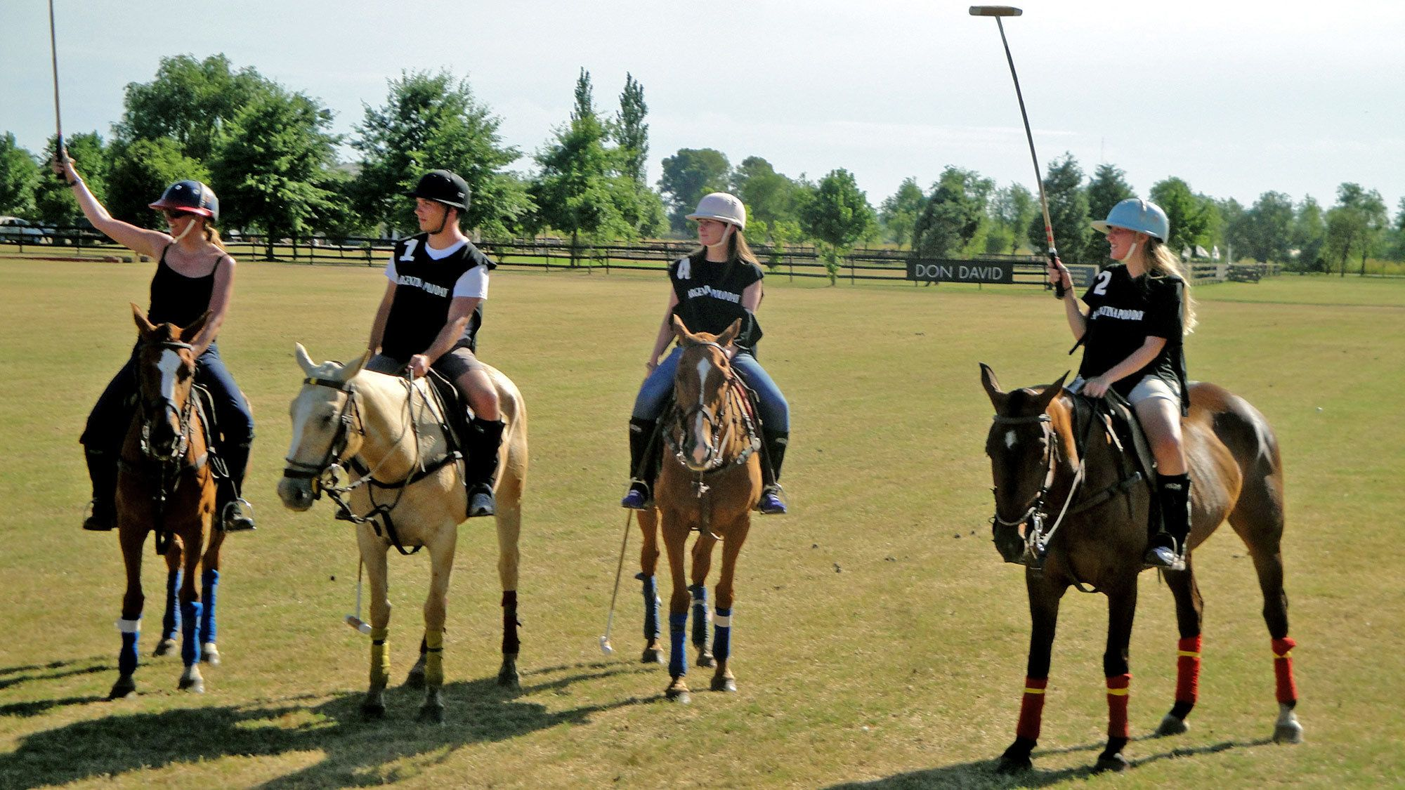 Group on the polo tour in Argentina