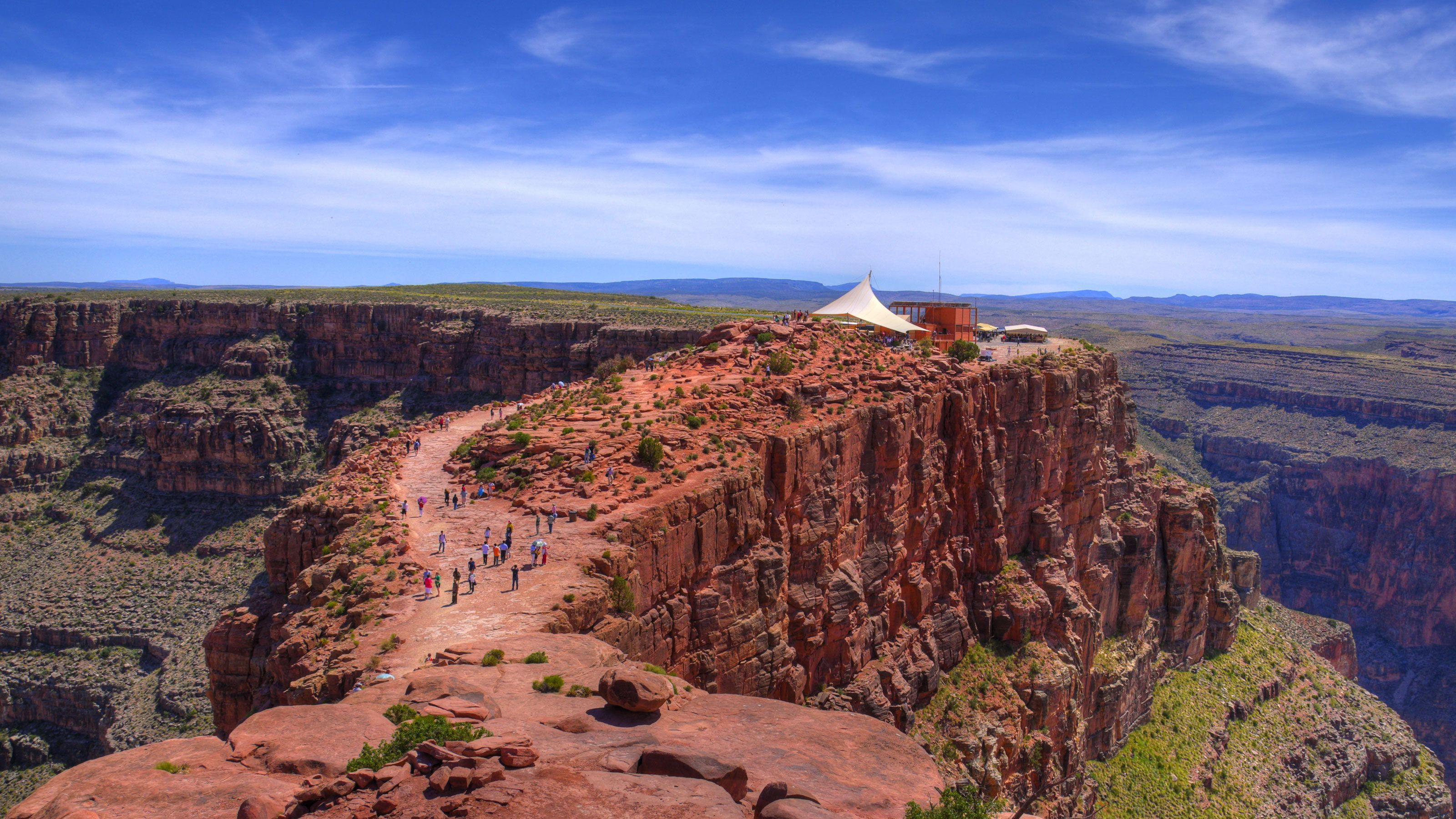Grand Canyon West Rim Bus Tour with Optional Skywalk & Helicopter Upgrades