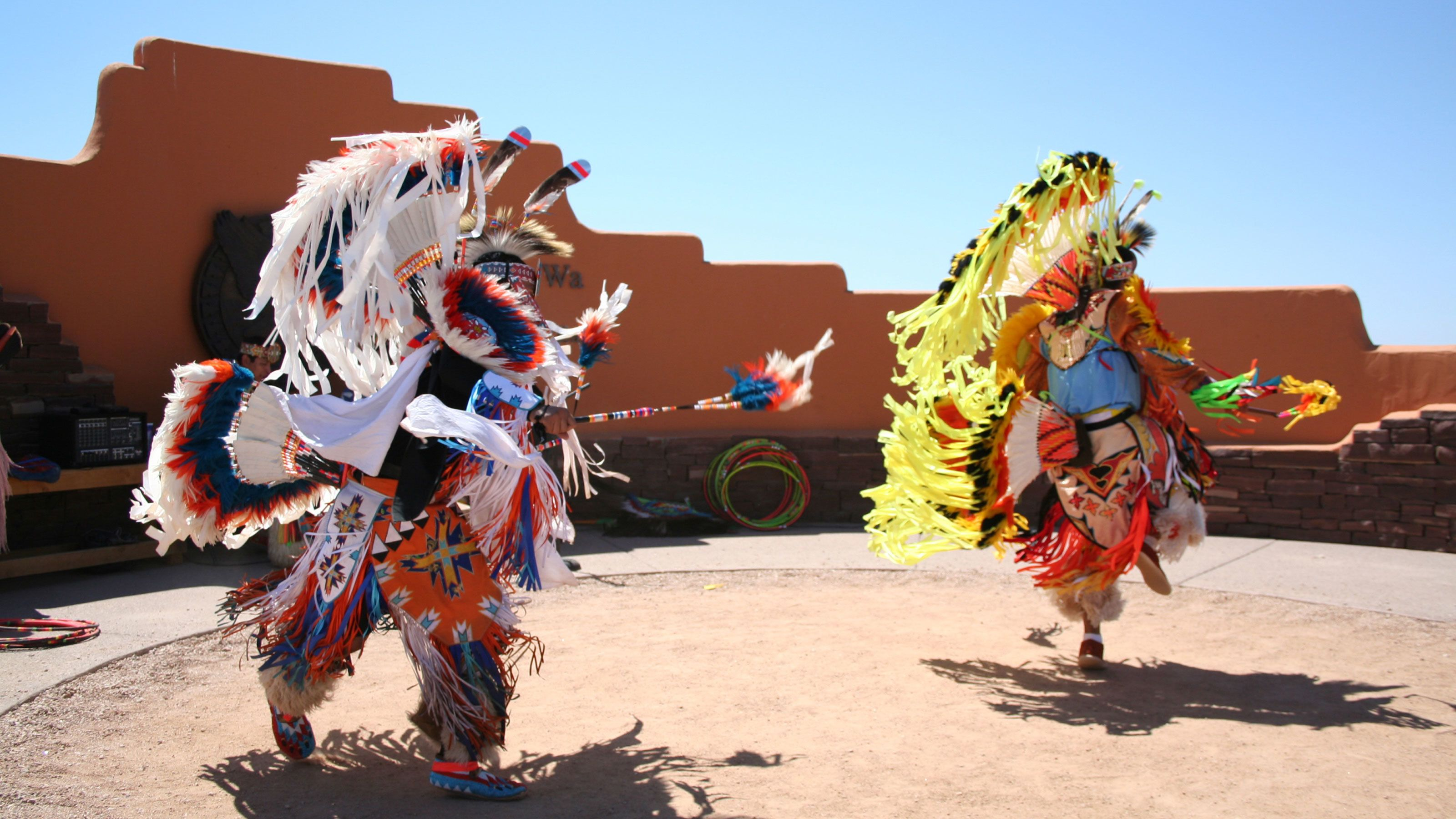 Traditional dances at the Hualapai Indian Country