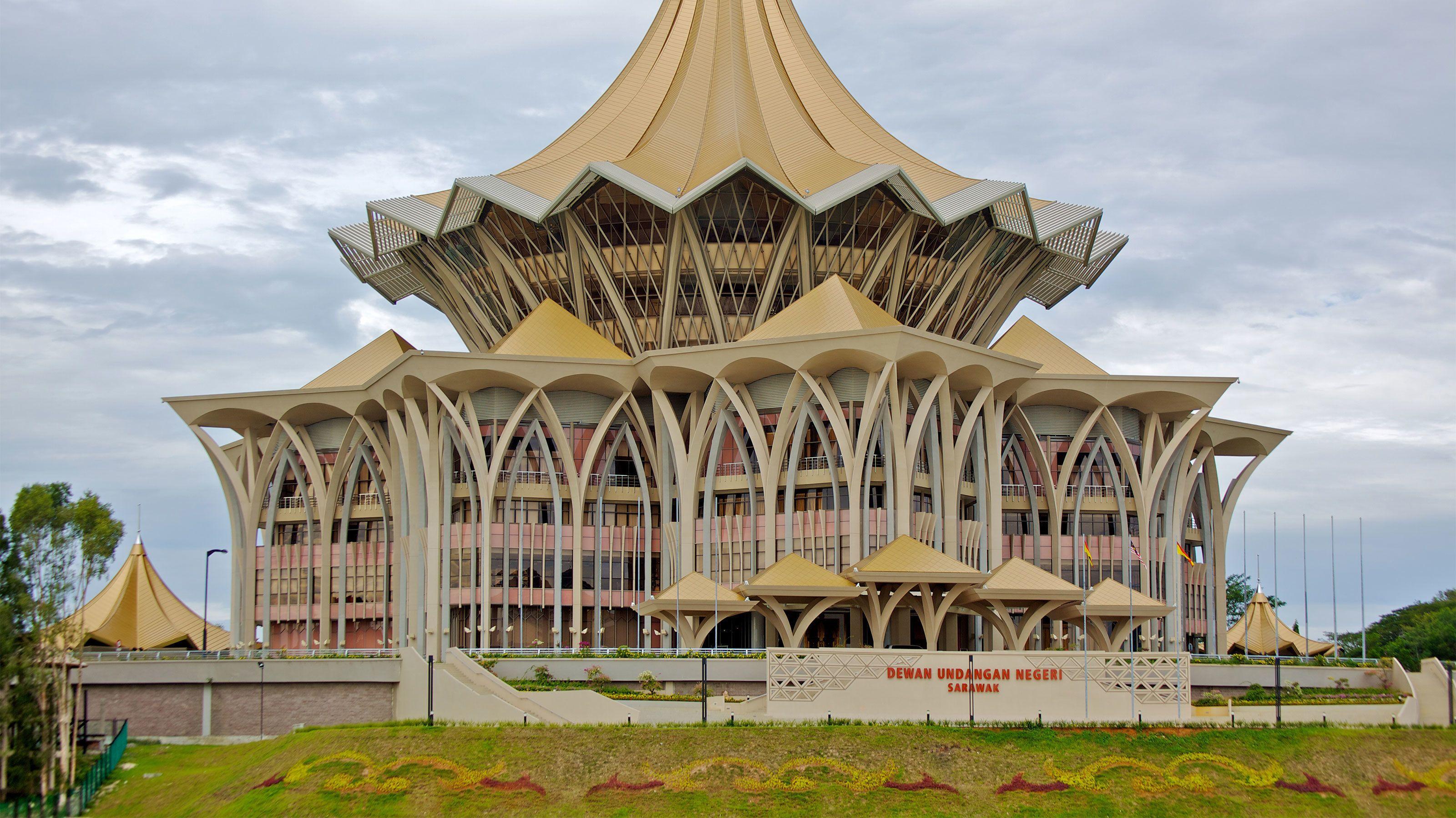New Sarawak State Legislative Assembly Building in Malaysia