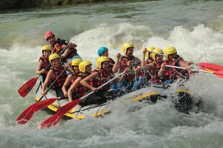 Rafting on the Isar