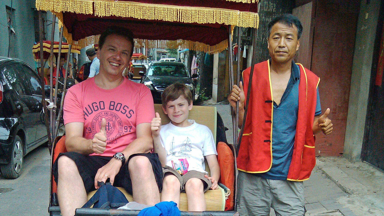 Private Hutong Rickshaw Ride & Dumpling Making