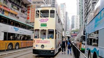 香港城市后巷早间探险之旅