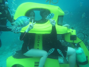 Underwater Tandem Scooter Ride