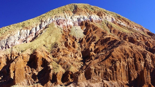Colorful layers of rock in Rainbow Valley