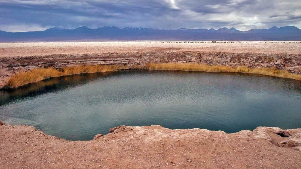 Show item 1 of 5. Small lagoon in Chile