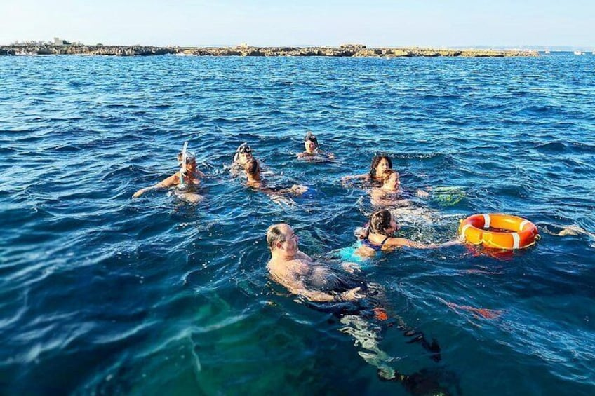 Guided snorkeling