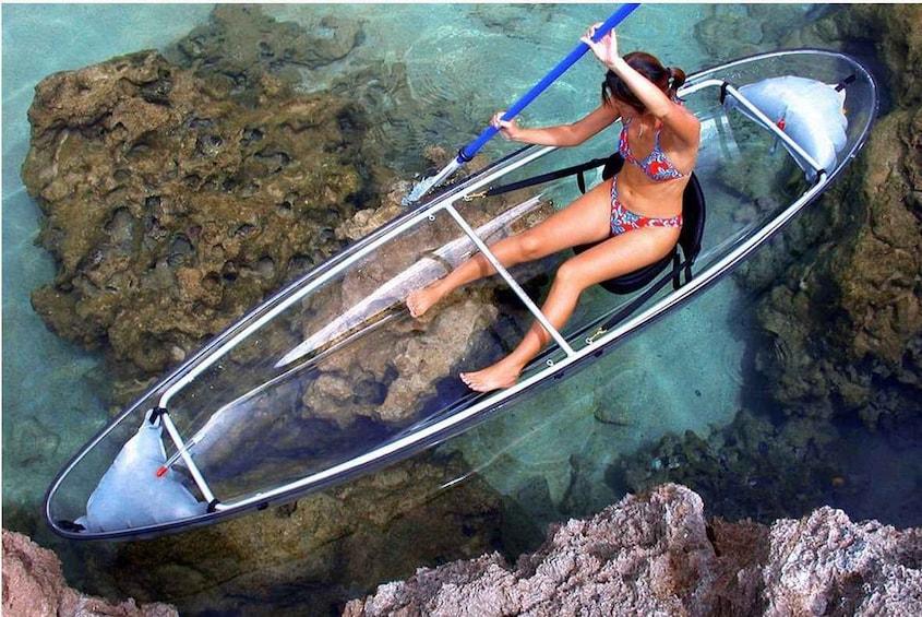 Show item 1 of 9. Moreton Island Full-Day Snorkel, Kayak & Sand-toboggan Tour