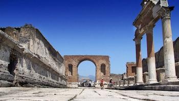 Excursion d'une demi-journée à Pompéi depuis Naples