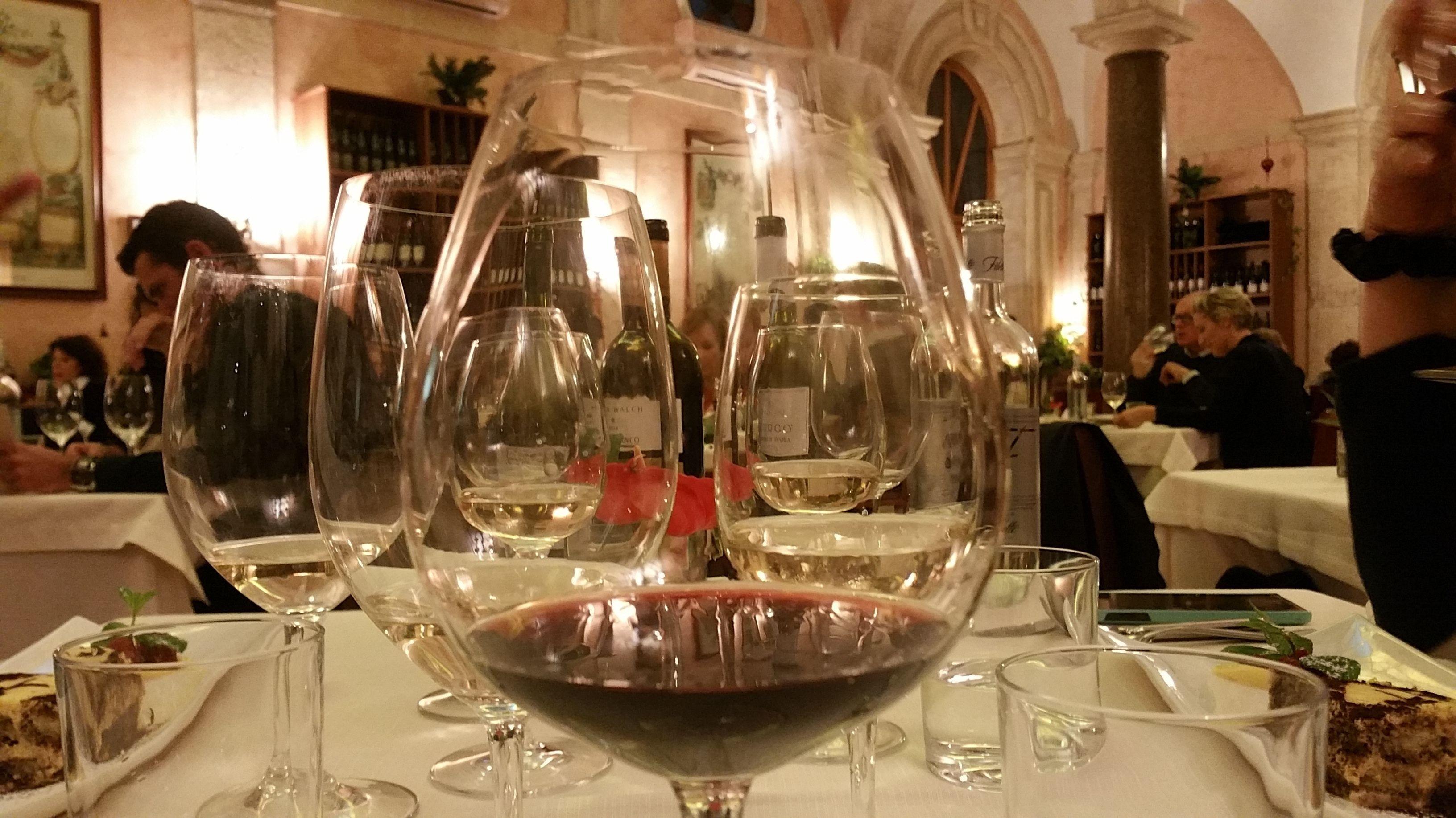 Tre-retters gourmetmiddag med vin
